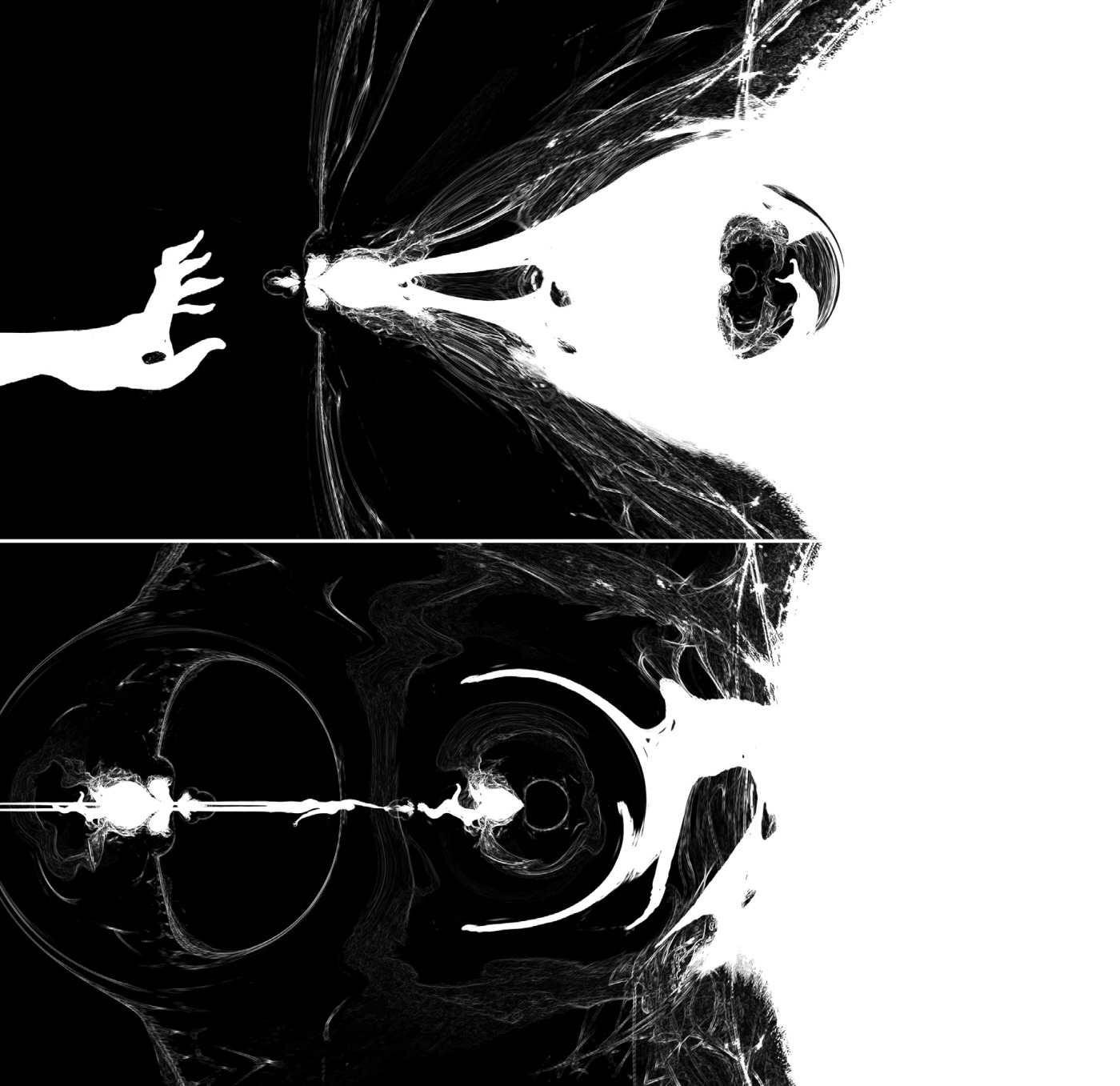 Dave McKean's illustration for Phoenix