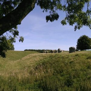 Avebury bank and ditch